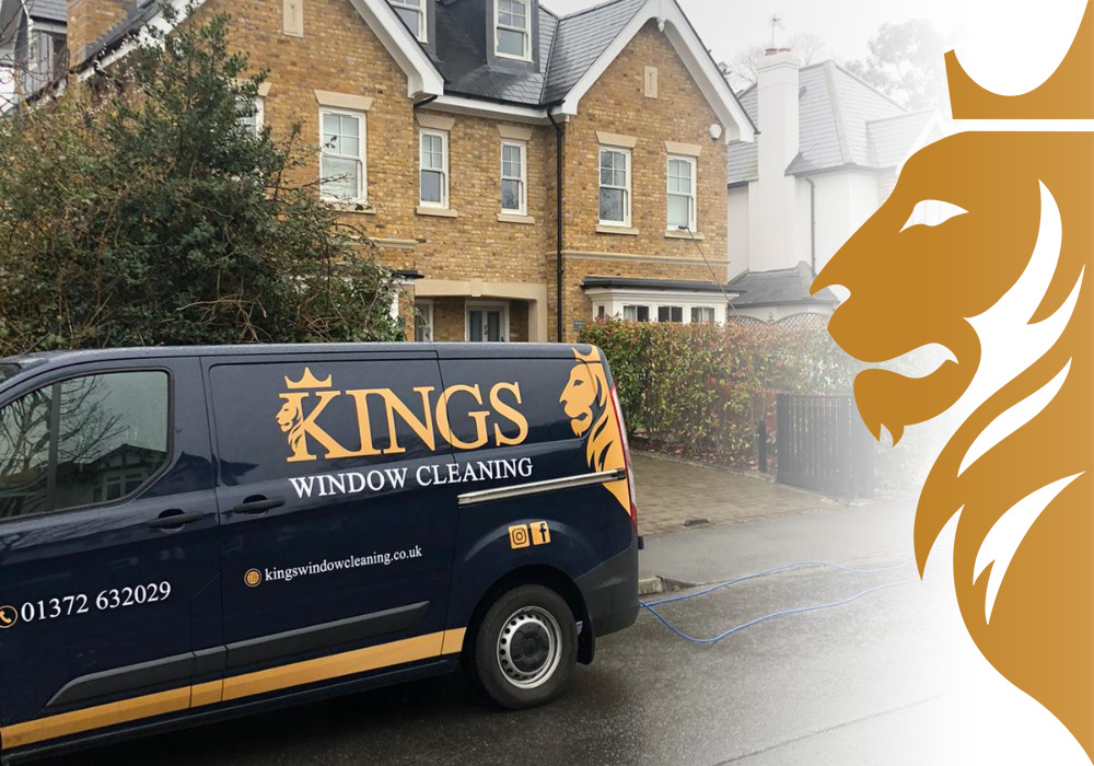 window cleaners in hampton court